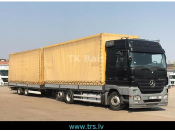 Mercedes-Benz Actros 2541  3pedal  - curtainsider truck
