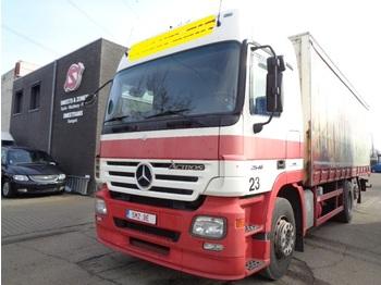 Curtainsider truck Mercedes-Benz Actros 2546 mega/ EPS 5x