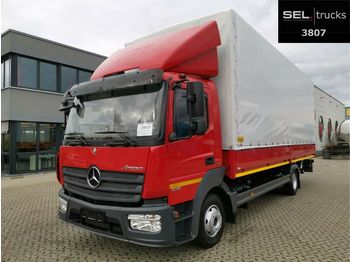 Mercedes-Benz Atego 1018 / Ladebordwand / Air conditioning  - curtainsider truck