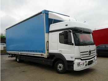 Curtainsider truck Mercedes-Benz Atego 1223 Euro 6: picture 1