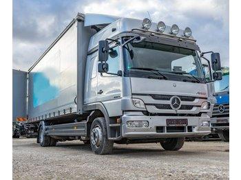 Curtainsider truck Mercedes-Benz Atego 1224L Pritsche/Plane Schlafkabine TOP!