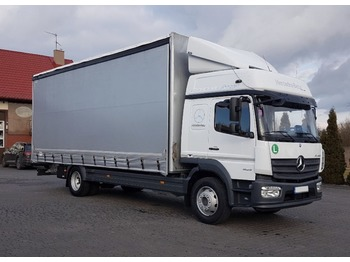 Curtainsider truck Mercedes-Benz Atego 1623: picture 1
