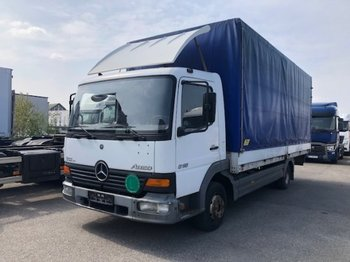 Curtainsider truck Mercedes-Benz Atego 815 Ladebordwand