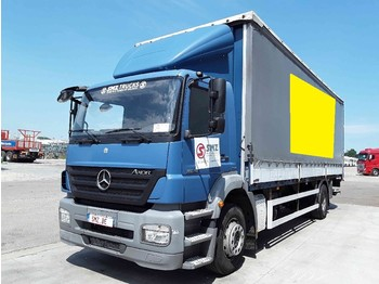 Curtainsider truck Mercedes-Benz Axor 1824