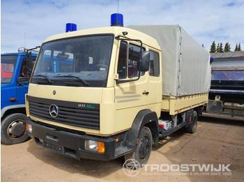 Mercedes-Benz DB 811 - curtainsider truck