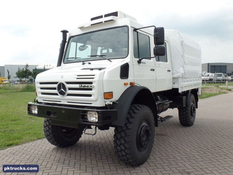 New mercedes benz unimog u4000 curtainsider truck for sale for Mercedes benz truck 4x4