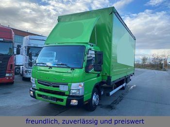Mitsubishi * FUSO * CANTER * EURO 6 * MOTORBREMSE  - curtainsider truck