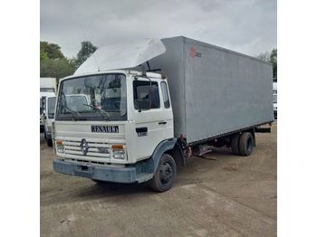 RENAULT Midliner S100 left hand drive Turbo Perkins engine - curtainsider truck
