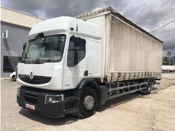 Curtainsider truck RENAULT PREMIUM 310.18 ADR