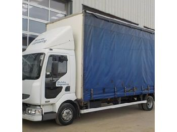 Renault 180DCI - curtainsider truck