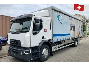 Renault D Weide 18.320  - curtainsider truck