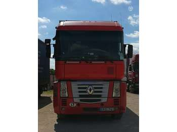Curtainsider truck Renault MAGNUM 460.26