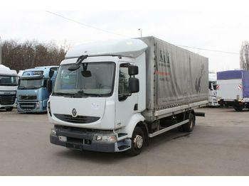 Curtainsider truck Renault MIDLUM 220.12 P 4x2 PNEU 90%