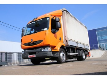 Curtainsider truck Renault MIDLUM 220 DXI - EURO 5: picture 1