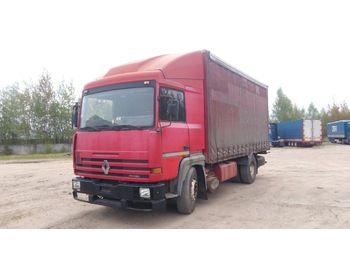 Renault Major - curtainsider truck