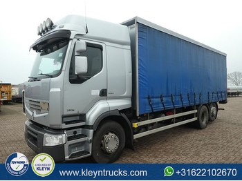 Curtainsider truck Renault PREMIUM 380 6x2 high roof