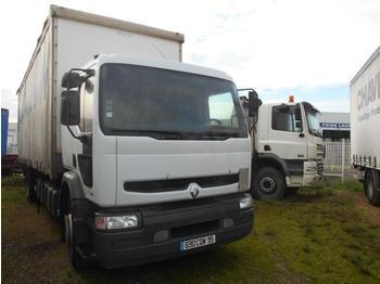 Curtainsider truck Renault Premium 300