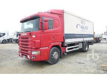 SCANIA 94L310 4x2 - curtainsider truck