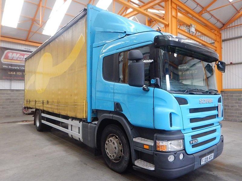Curtainsider truck SCANIA P230 - Truck1 ID: 3341490