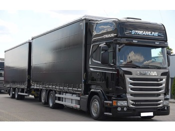 SCANIA R410 - curtainsider truck