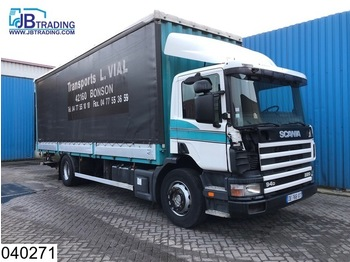 Scania 94 220 EURO 2, Manual, Borden - curtainsider truck