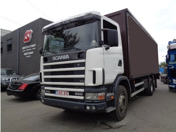 Curtainsider truck Scania 94 G top 6x2: picture 1