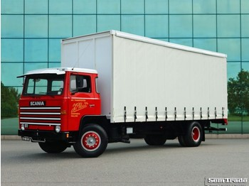 Scania LB 81 - S50 CLASSIC - MUSEUM QUALITY - curtainsider truck