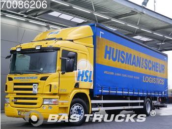 4fd4aee38b Curtainsider truck Scania P270 4X2 Ladebordwand 3-Pedals Hartholz-Bodem  Euro 4 NL-