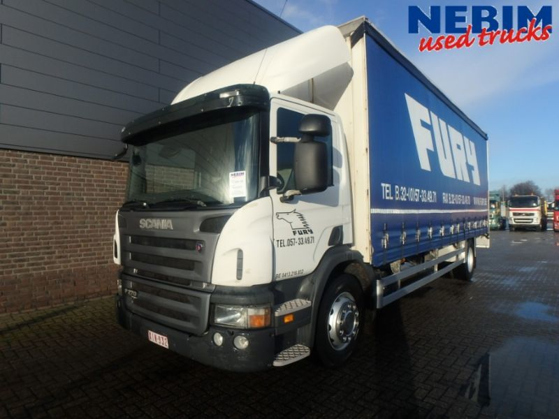 2ce3ac3b8a Scania P270 4x2 745.122km curtainsider truck from Netherlands for ...