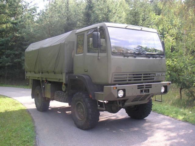 Curtainsider truck Steyr 12M18 Militär 4x4 - Truck1 ID: 751791