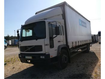 VOLVO FL 250 HP left hand drive 19 ton on springs MOT till 05/20 - curtainsider truck