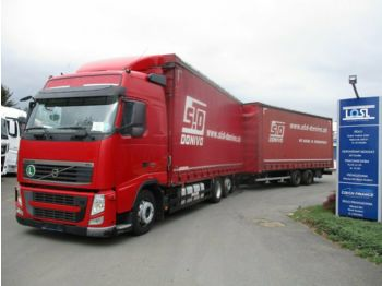 Curtainsider truck Volvo FH13.460 6x2 EEV + Wecon: picture 1
