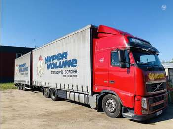 Volvo FH 460 RETARDER FRANCE  - curtainsider truck