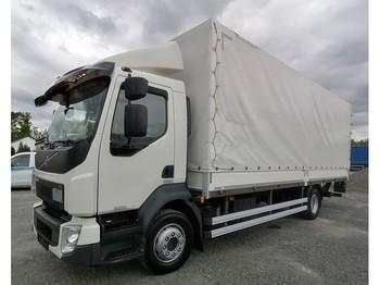 Curtainsider truck Volvo FL240 - 14 Tonnen Pritsche / Plane LBW Klima Euro 6 (1)