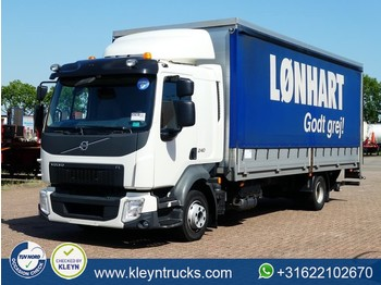 Curtainsider truck Volvo FL 240.12 1x bed euro 6 lift
