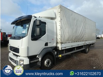 Curtainsider truck Volvo FL 240.12 manual airco 1x bed