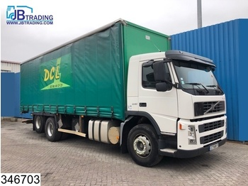 Curtainsider truck Volvo FM12 340 6x2, Manual, Airco, Analoge tachograaf, 10 Wheels: picture 1