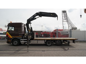 Truck DAF 95.430 SC 6X2 OPENBOX WITH HIAB 477 EP-5 HiPro MANUAL GEARBOX