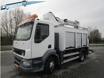 DAF LF55.180 met Custers Hoogwerker - truck