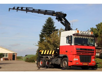 Truck DAF XF95/430 !!6X4!!MANUELL!!CRANE/GRUE 38tm!!WINCH/LIER !!!TOP!!!: picture 1