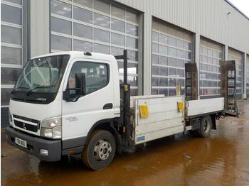 Dropside/ flatbed truck 2011 Mitsubishi Canter 7C18