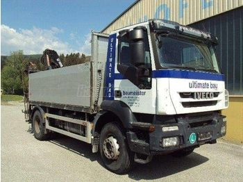 Dropside/ flatbed truck IVECO 310 Darus Platós