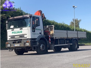 Dropside/ flatbed truck Iveco EuroTech 190E24 Euro 2