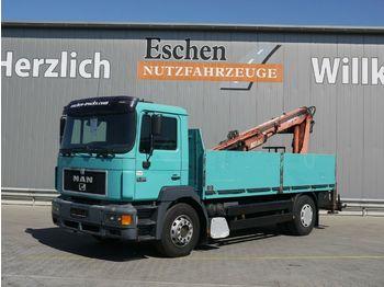 Dropside/ flatbed truck MAN 19.403 Silent 4x2 Atlas 125.1*Manuell*AHK*1.Hand