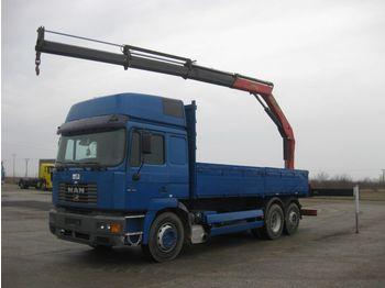 Dropside/ flatbed truck MAN 26.414 FNLLW 6x2-2