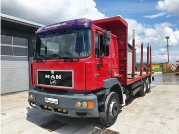 Dropside/ flatbed truck MAN 26.422 6X4