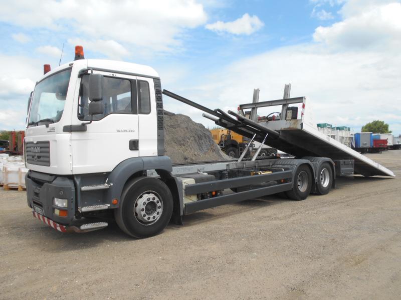 dropside/ flatbed truck MAN TGA 28.350