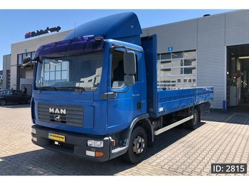 Dropside/ flatbed truck MAN TGL 12.180 Day Cab, Euro 4, ,Good Tyres!
