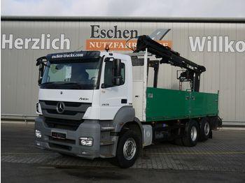 Dropside/ flatbed truck Mercedes-Benz 2536 L Axor 6x2, Atlas 165.2 V-A12, Lift/Lenk