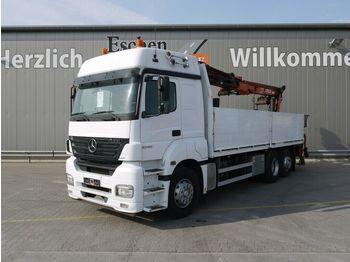Dropside/ flatbed truck Mercedes-Benz Axor 2543 L 6x2 Atlas 170.2, Klima, Schalter
